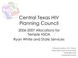 Central Texas HIV  Planning Council