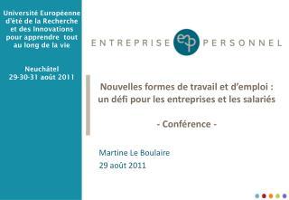 Martine Le Boulaire 29 août 2011