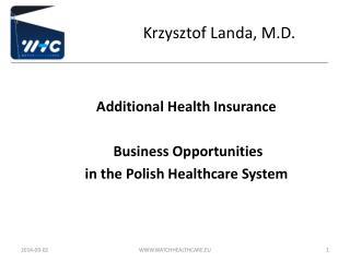 Krzysztof Landa, M.D.