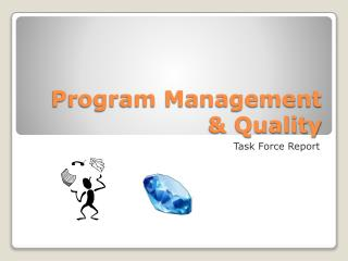 Program Management & Quality