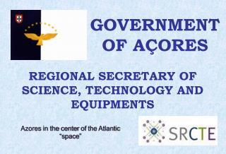 GOVERNMENT OF AÇORES