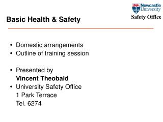 Basic Health & Safety