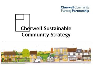 Cherwell Sustainable Community Strategy