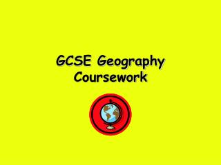 GCSE Geography Coursework