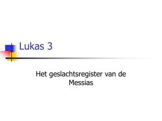 Lukas 3
