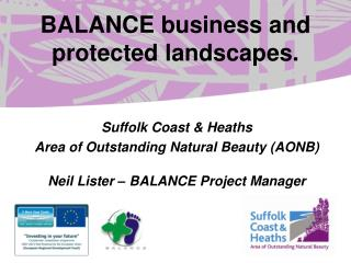 BALANCE business and protected landscapes.