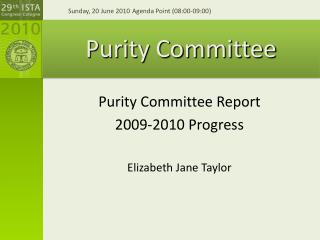 Purity Committee