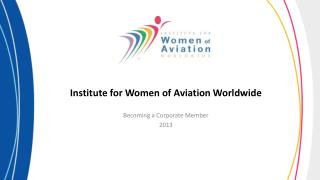Institute for Women of Aviation Worldwide