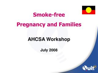 Smoke-free  Pregnancy and Families