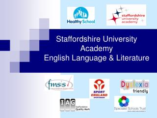 Staffordshire University Academy   English Language & Literature