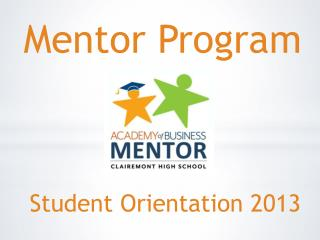 Student  Orientation 2013