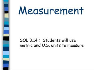 Download Liquid Measurement SOL 3.14 Powerpoint quiz