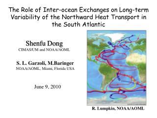 Shenfu Dong CIMAS/UM and NOAA/AOML