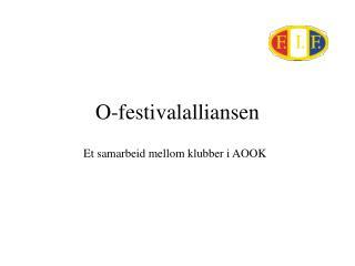 O-festivalalliansen