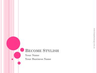 Become Stylish