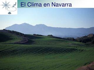 El Clima en Navarra