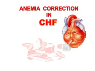 ANEMIA  CORRECTION IN