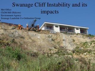 Swanage Cliff Instability and its impacts
