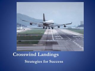 Crosswind Landings