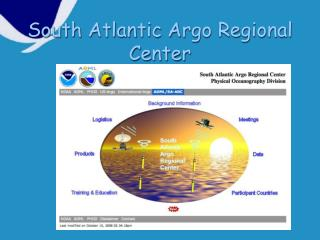 South Atlantic Argo Regional Center