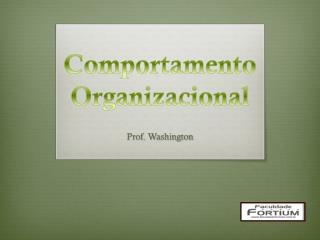 Comportamento Organizacional