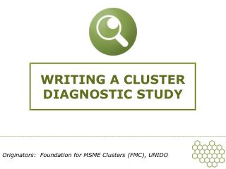 WRITING A CLUSTER DIAGNOSTIC STUDY