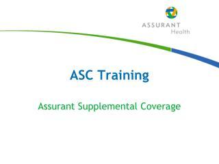 ASC Training