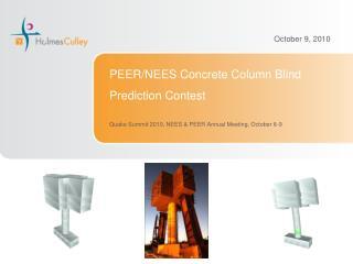 PEER/NEES Concrete Column Blind Prediction Contest