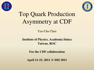 Top Quark Production Asymmetry at CDF