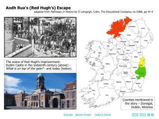 Aodh Rua's (Red Hugh's) Escape