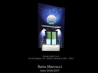 Ilaria Marcucci Anno 2006/2007