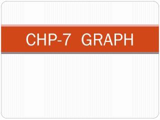 CHP-7  GRAPH