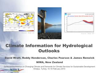 Climate Information for Hydrological Outlooks