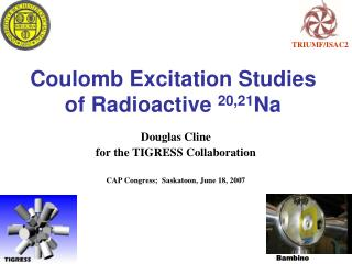 Coulomb Excitation Studies of Radioactive  20,21 Na