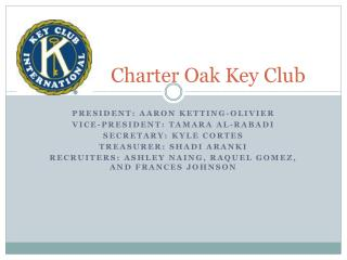 Charter Oak Key Club