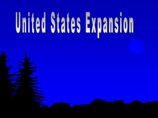 United States Expansion