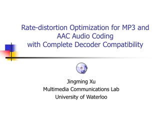 Rate-distortion Optimization for MP3 and AAC Audio Coding  with Complete Decoder Compatibility