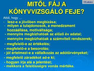 MITOL F J A K NYVVIZSG L  FEJE