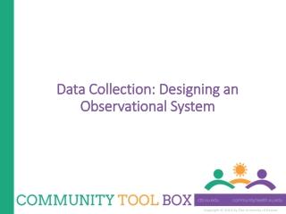 Observational Surveys: Implementation and Analysis