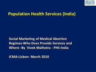 Population Health Services (India)