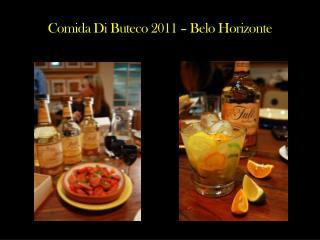 Comida Di  Buteco  2011 – Belo Horizonte