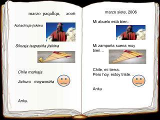 marzo   paqallqu ,     2006