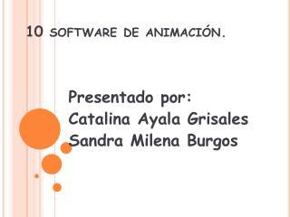 10 software de animación .