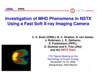 Investigation of MHD Phenomena in NSTX Using a Fast Soft X-ray Imaging Camera