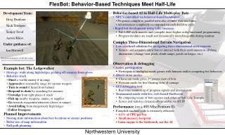 FlexBot: Behavior-Based Techniques Meet Half-Life