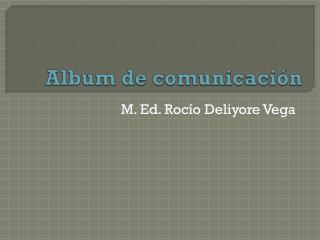 Album de  comunicación