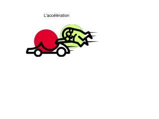 L'accélération