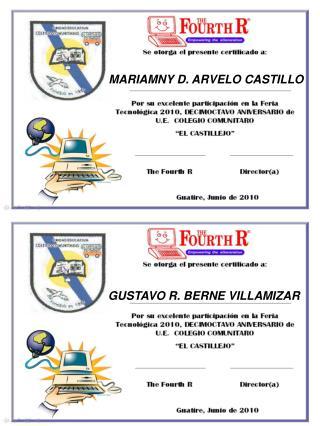 MARIAMNY D. ARVELO CASTILLO