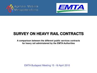 SURVEY ON HEAVY RAIL CONTRACTS