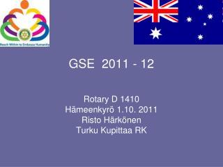 GSE  2011 - 12